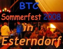 BTC Sommerfest 2008 in Esterndorf