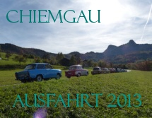 Chiemgau Ausfahrt 2013
