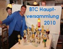 BTC-Hauptversammlung 2010